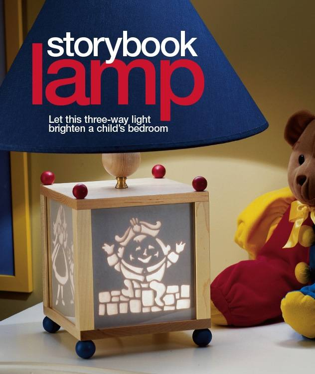 Storybook Lamp Woodworking Plan