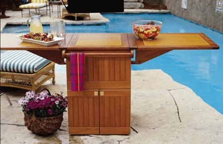 Patio Party Center Woodworking Plan.