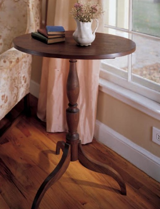 Classic Oval Table Woodworking Plan