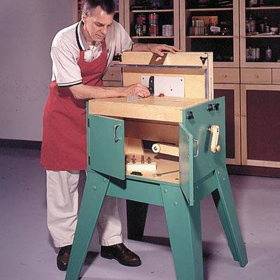 All Purpose Router Station Woodworking Plan