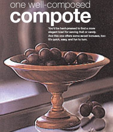 31-MD-00367 - Compote Woodworking Plan