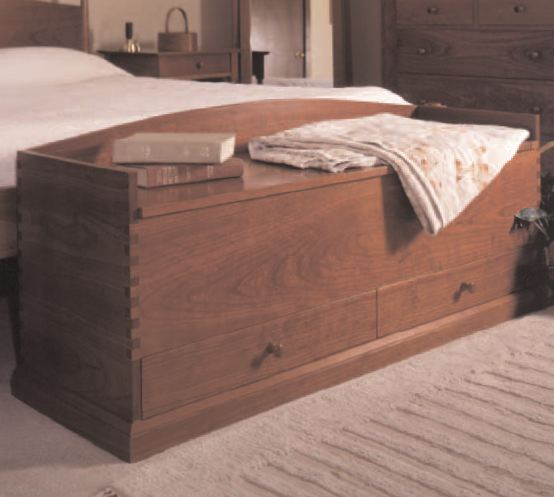 Shaker Style Blanket Chest Woodworking Plan