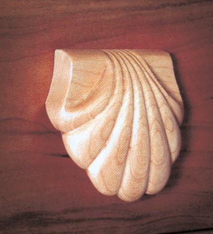 31-MD-00381 - Carve a Classic Shell Woodworking Plan