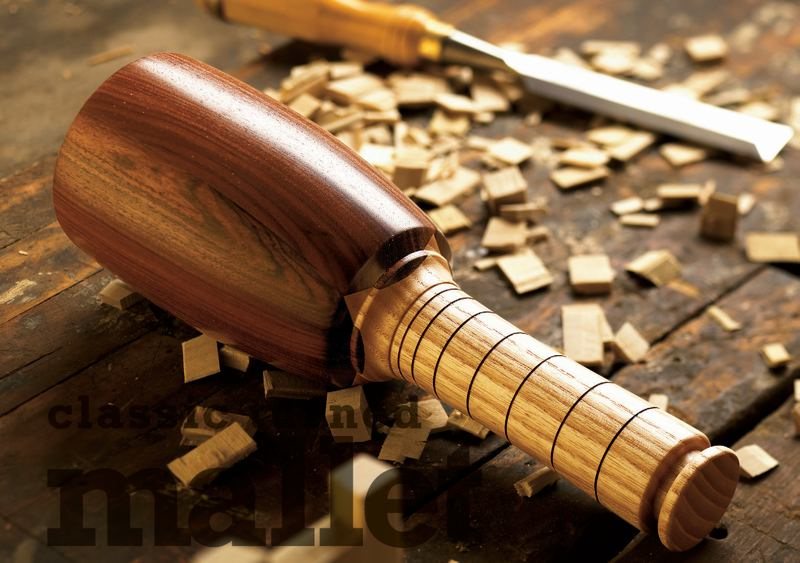 Md turned mallet woodworking plan