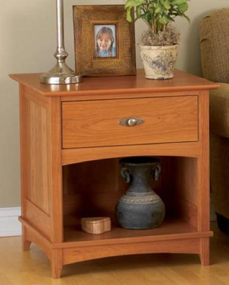 End Table Woodworking Plan.