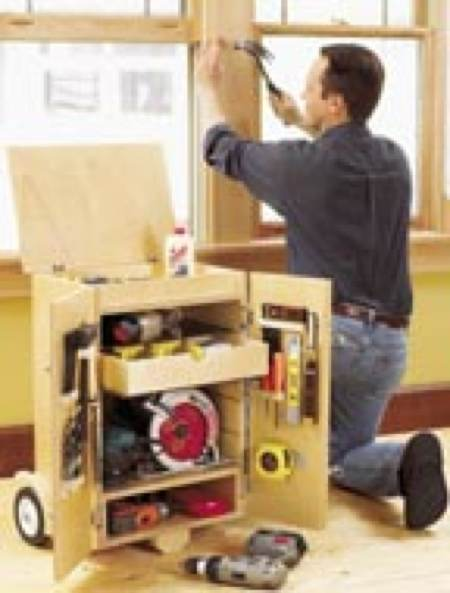 31 Md 00426 Go Anywhere Tool Caddy Woodworking Plan