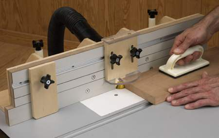 Router Table Fence Woodworking Plan