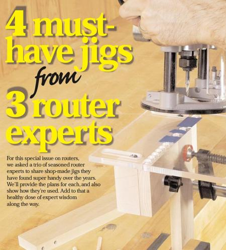 3 Must Have Router Jig Woodworking Plan