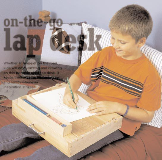 On The Go Lap Desk Woodworking Plan