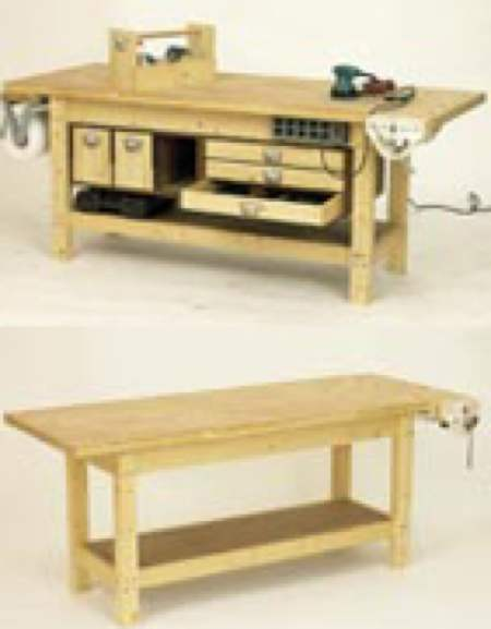 Remarkable Workbench And 6 Pack Of Upgrades Woodworking Plan Andrewgaddart Wooden Chair Designs For Living Room Andrewgaddartcom