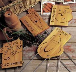 Garden Markers Woodworking Plan