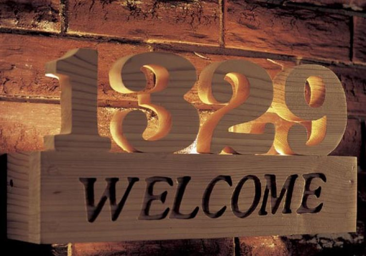 Welcome Sign Woodworking Plan