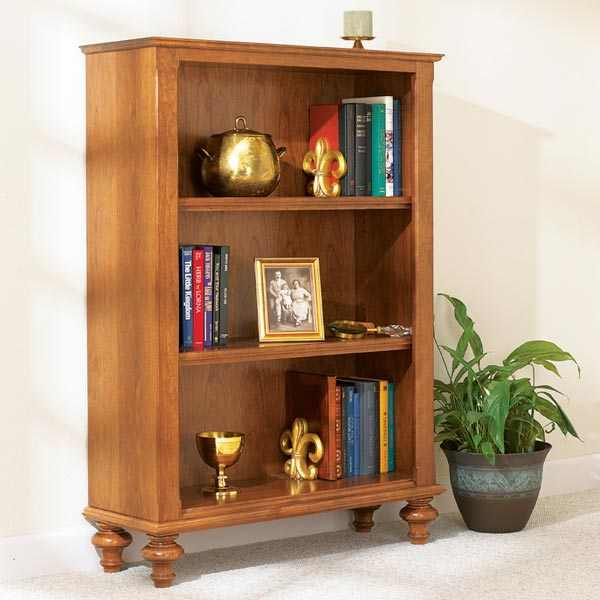 31-MD-00477 - Build-In-A-Weekend Bookcase Woodworking Plan