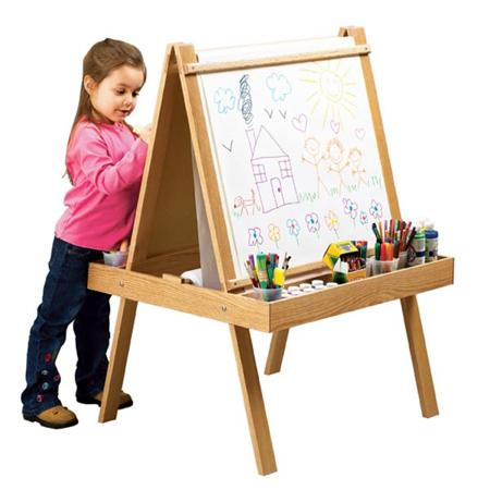 Young Artists Easel Woodworking Plan
