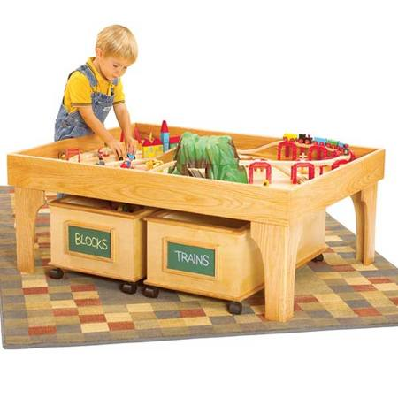 Play Center Woodworking Plan.
