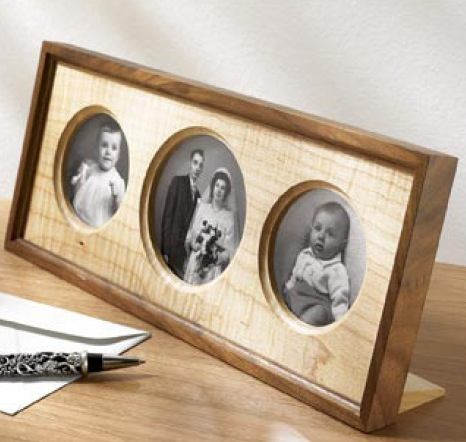 Triple Treat Photo Frame Woodworking Plan