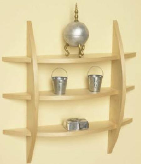 Contemporary Wall Shelf Woodworking Plan Woodworkersworkshop