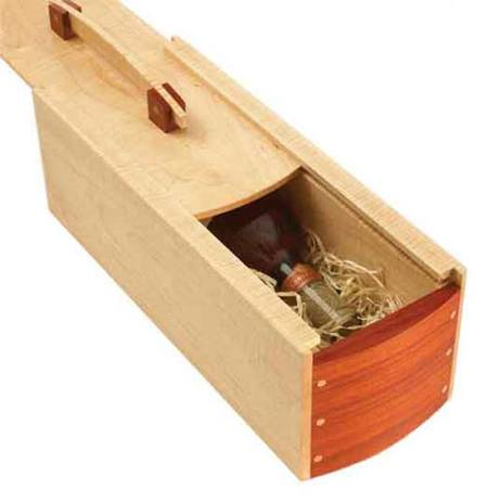 31-MD-00529 - Wine Gift Box Woodworking Plan