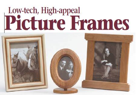 Picture Frames Woodworking Plan.