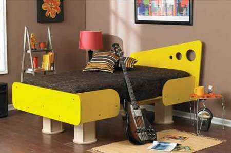 Knock Down Bed Woodworking Plan