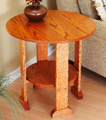 31 md 00588 mission end table woodworking plan for Md table design