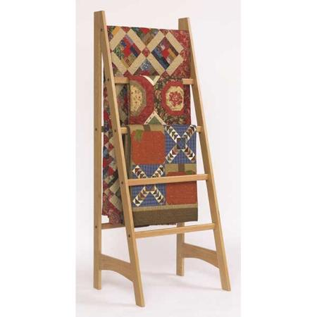 Quilt Ladder Woodworking Plan.