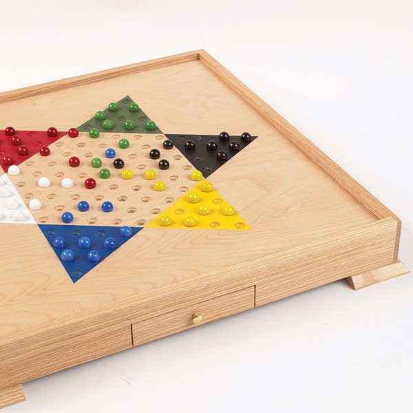 Chinese Checker Game Board Woodworking Plan