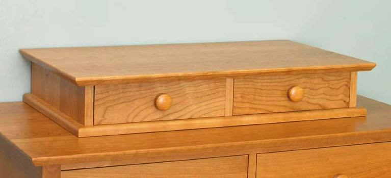 Dresser Top Valet Woodworking Plan