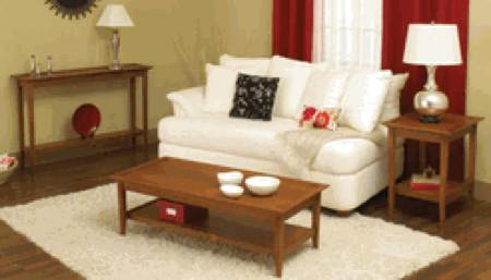 31-MD-00606a - Easy and Elegant Three Table Set Woodworking Plan