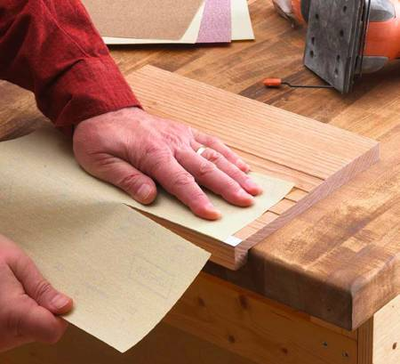 31-MD-00621 - Sandpaper Cutting Jig Woodworking Plan