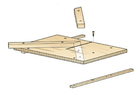 Mighty Miter Sled Woodworking Plan
