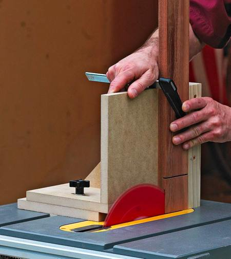 31-MD-00630 - Tablesaw Joinery Jig Woodworking Plan