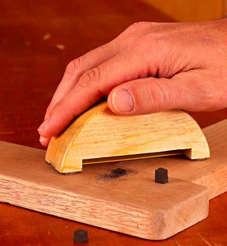 Handheld Plug Trimming Jig Woodworking Plan