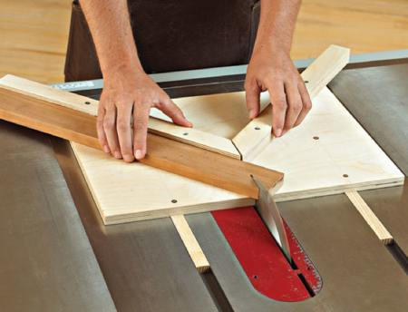 Miter Jig Woodworking Plan