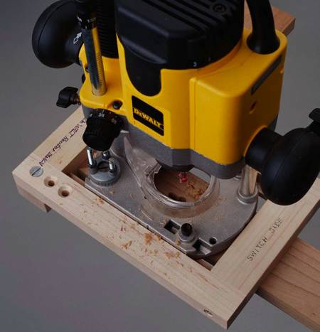 31-MD-00652 - Keyhole Routing Jig Woodworking Plan