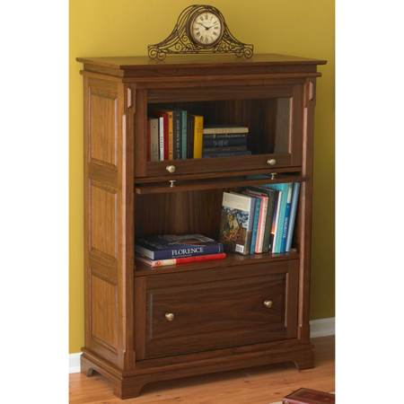 31-MD-00738 - Barristers Bookcase Woodworking Plan.