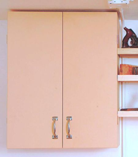 Basic Wall Cabinet Woodworking Plan