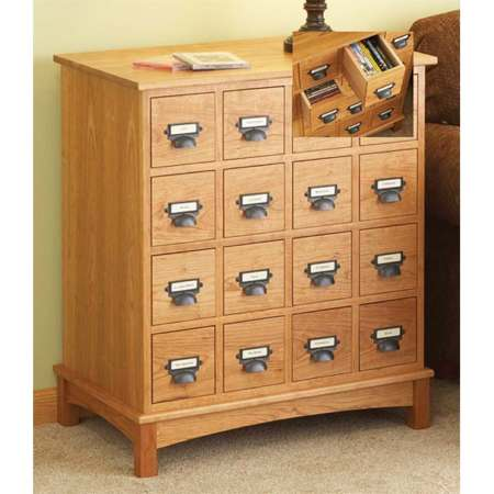 Media Cabinet Woodworking Plan