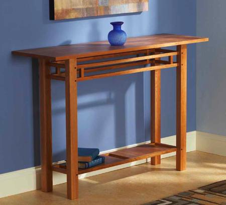 Easy and Elegant Hall Table Woodworking Plan