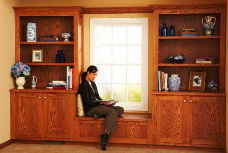 Design and Install Built-In Bookcase Woodworking Plan