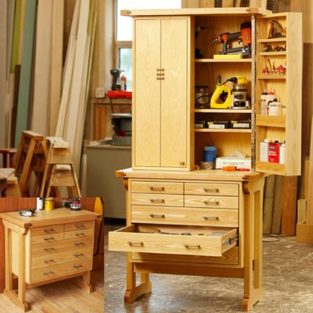 Heirloom Tool Chest Woodworking Plan