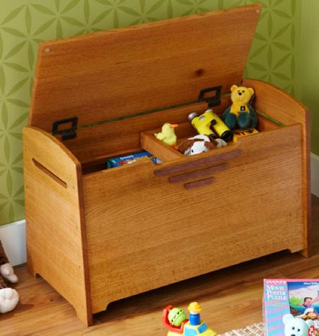 Toy Box or Blanket Chest Woodworking Plan.