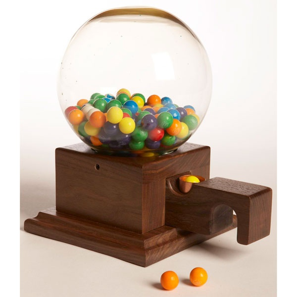 Glass Globed Gumball Machine Woodworking Plan woodworking plan