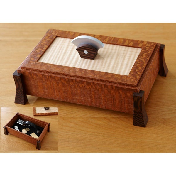 Keepsake Box Woodworking Plan