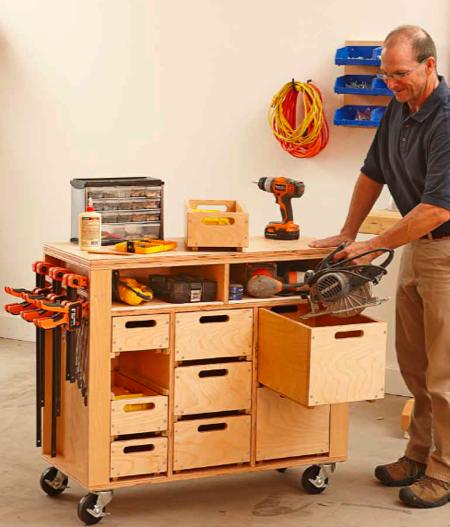 31-MD-00877 - Workshop in a Box Woodworking Plan