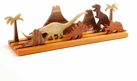 Scrollsaw Dinosaur Puzzle Woodworking Plan