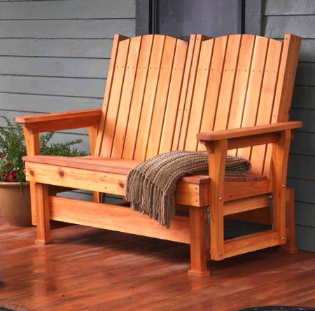 Easy Breezy Glider Woodworking Plan