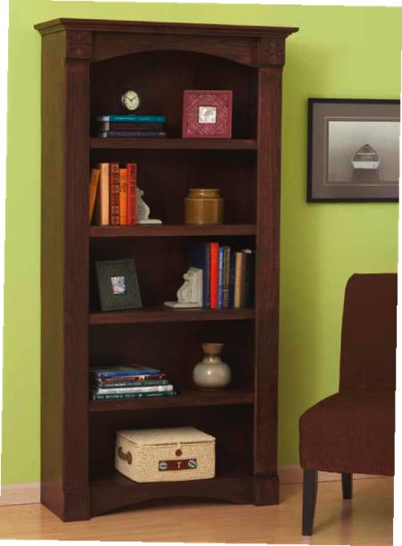 Classic Bookcase Woodworking Plan