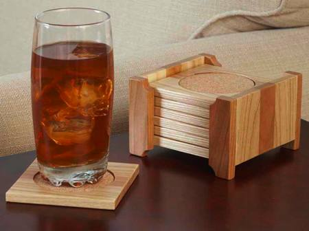 Classy Coaster Set Woodworking Plan