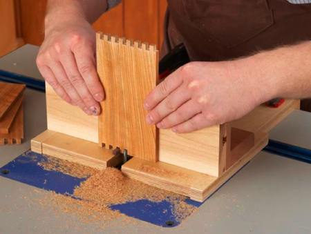 Box Joint Jig Woodworking Plan